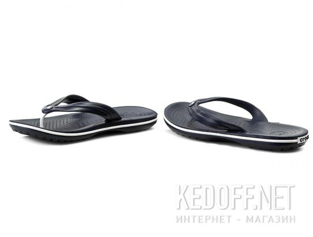 Вьетнамки Crocs Crocband Flip 11033-410 унисекс   (синий) купить Киев