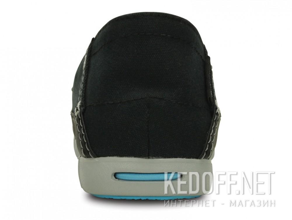 Цены на Слипоны Crocs Stretch Sole Skimmer 200342-02G   (голубой/чёрный)