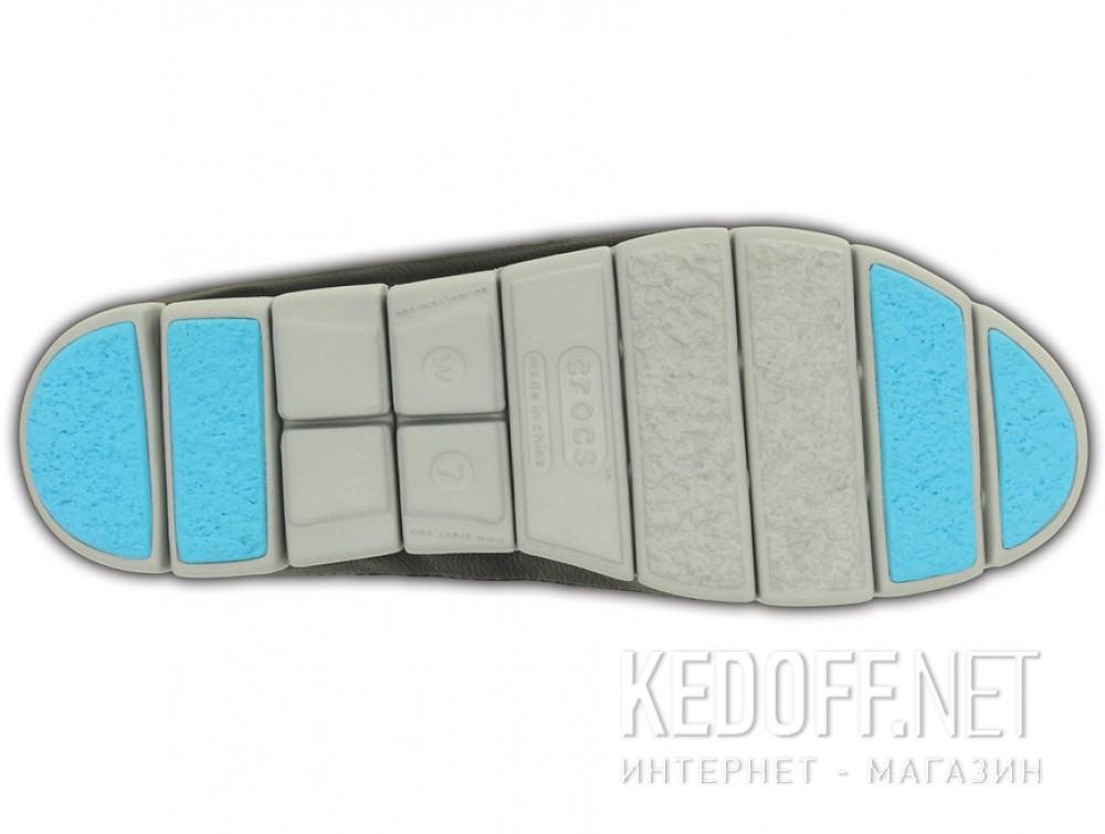Доставка Слипоны Crocs Stretch Sole Skimmer 200342-02G   (голубой/чёрный)