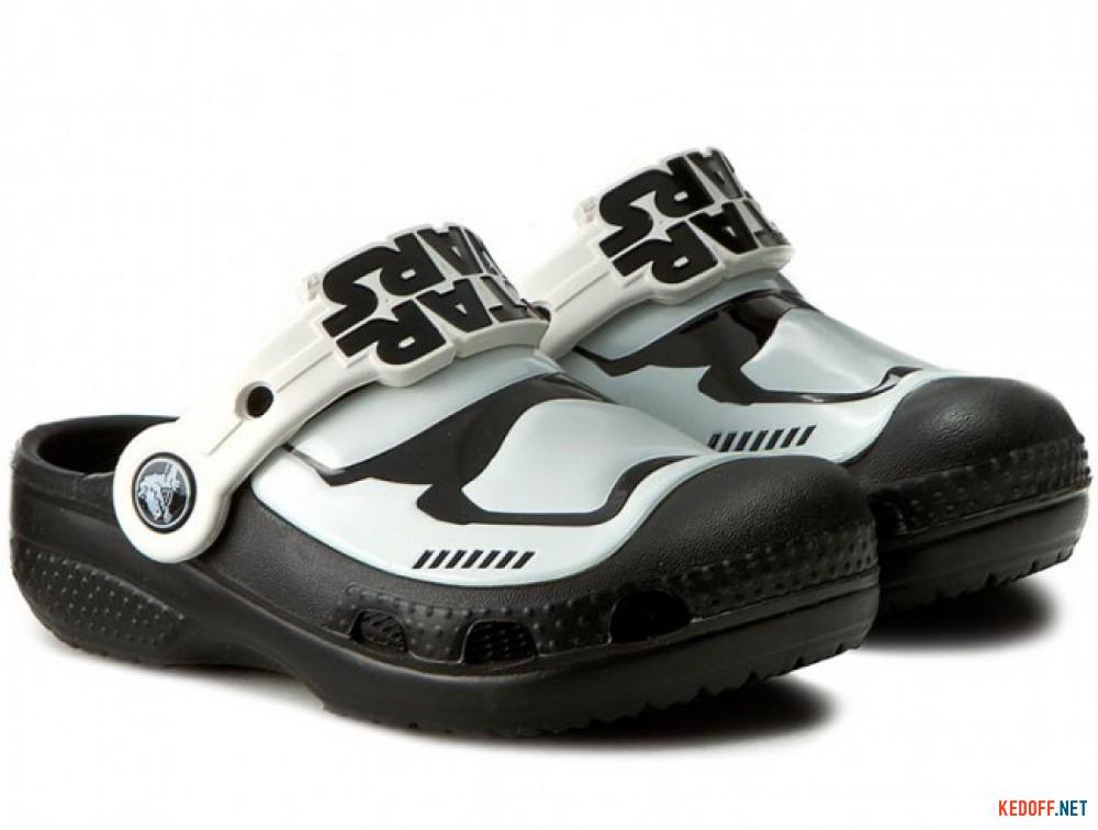 Сандалии Crocs CC Stormtrooper 203531-90H Star Wars унисекс   (чёрный/белый) купить Украина