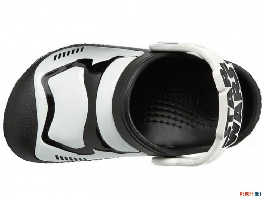 Сандалии Crocs CC Stormtrooper 203531-90H Star Wars унисекс   (чёрный/белый) описание