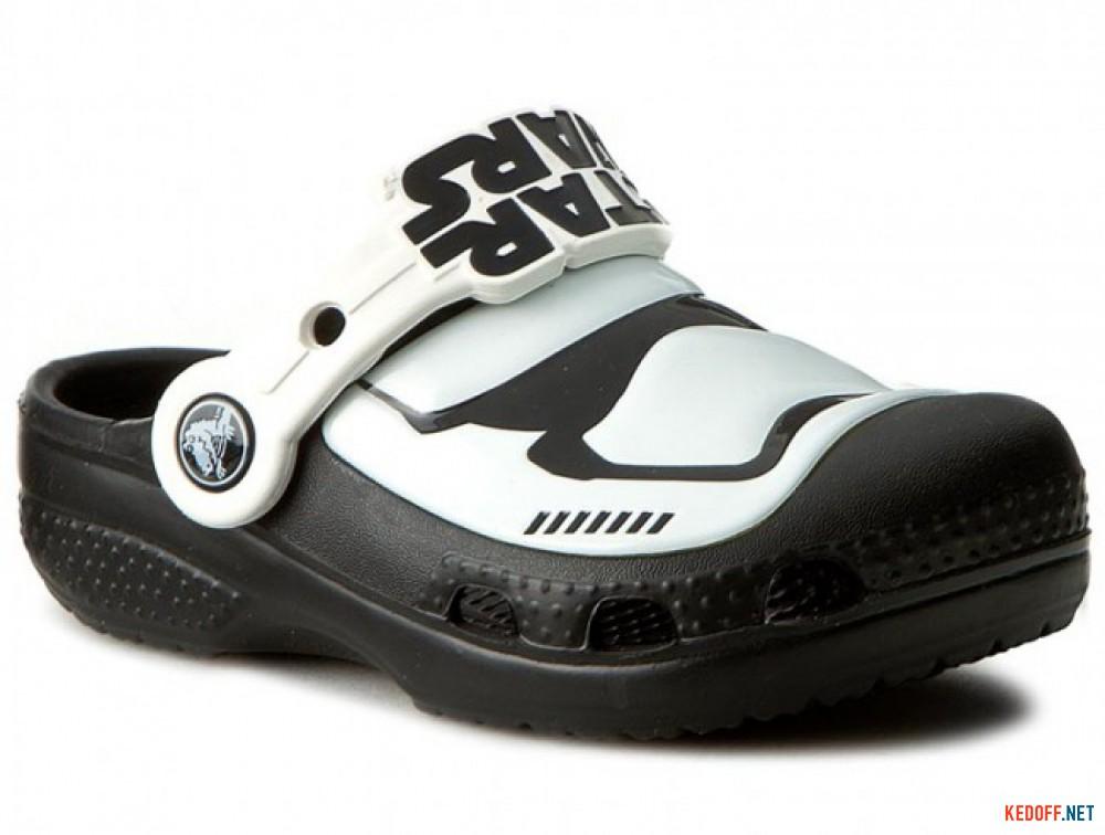 Купить Сандалии Crocs CC Stormtrooper 203531-90H Star Wars унисекс   (чёрный/белый)