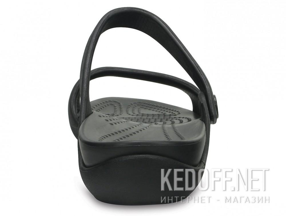Оригинальные Сандалии Crocs Cleo V Flat Sandal 204268-060  (чёрный)