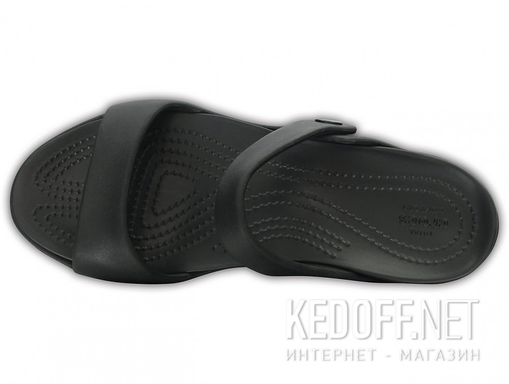 Сандалии Crocs Cleo V Flat Sandal 204268-060  (чёрный) описание
