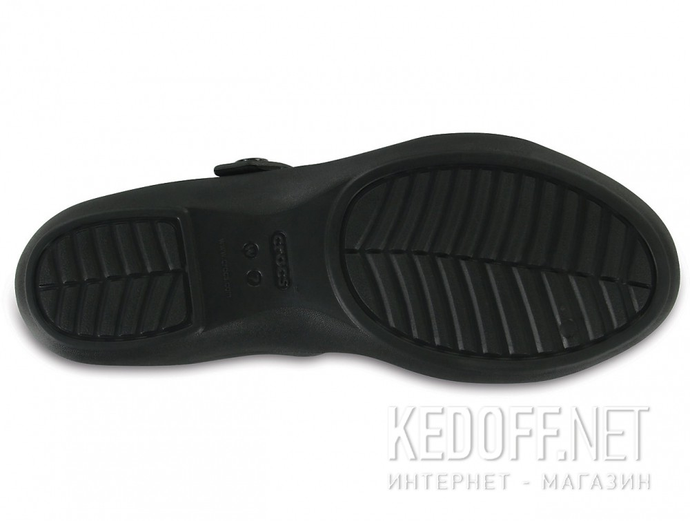 Цены на Сандалии Crocs Cleo V Flat Sandal 204268-060  (чёрный)