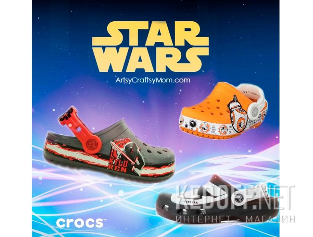 Доставка Сандалии Crocs CC Stormtrooper 203531-90H Star Wars унисекс   (чёрный/белый)