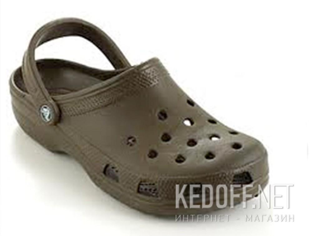 Купить Сандалии Crocs Classic 10001-200 унисекс   (коричневый)