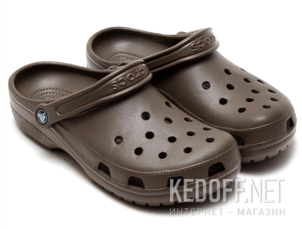 Сандалии Crocs Classic 10001-200 унисекс   (коричневый) купить Украина