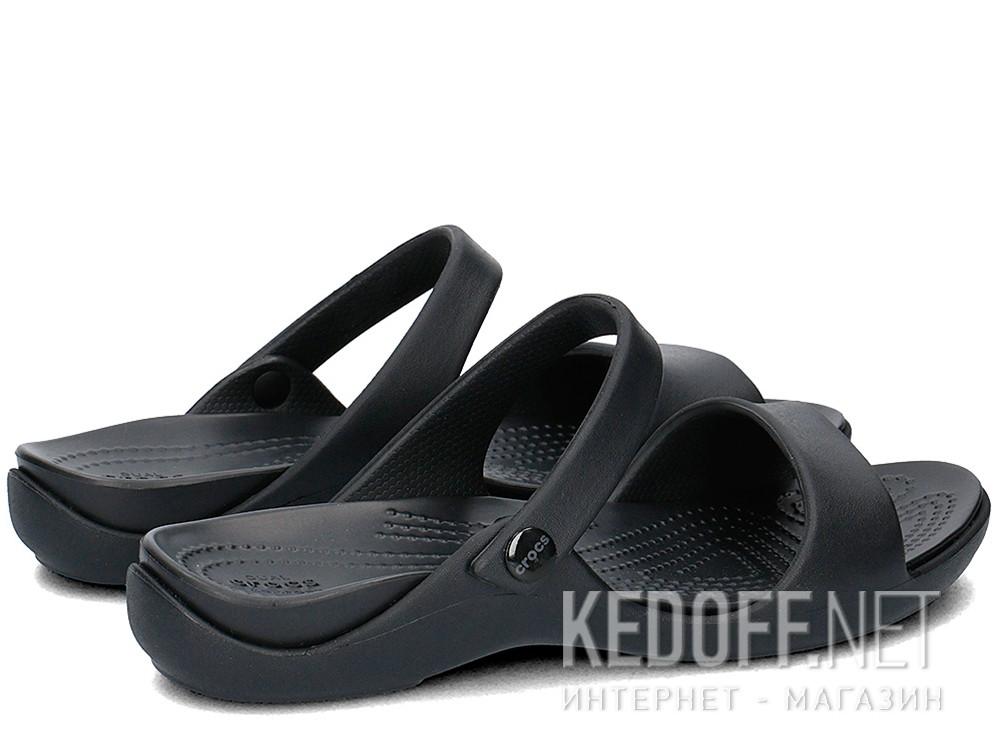 Сандалии Crocs Cleo V Flat Sandal 204268-060  (чёрный) купить Украина