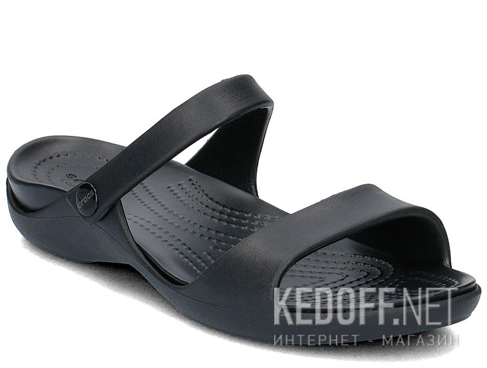 Купить Сандалии Crocs Cleo V Flat Sandal 204268-060  (чёрный)