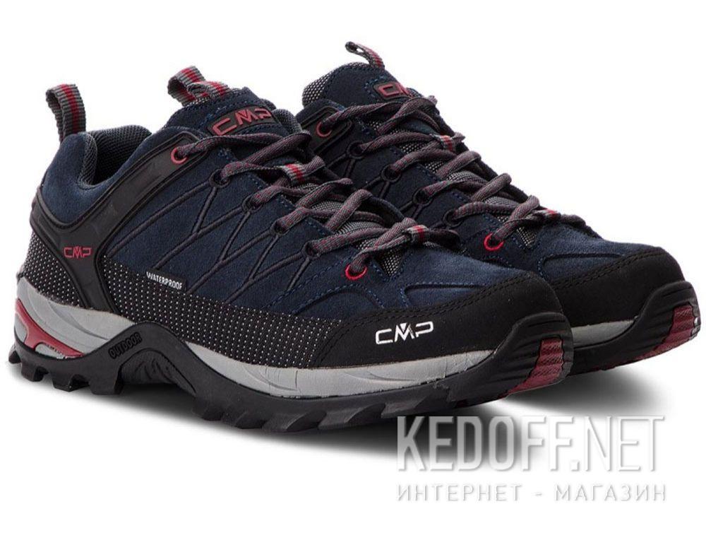 Демисезонные кроссовки CMP Rigel Low Trekking Shoes Wp 3Q13247-62BN купить Украина