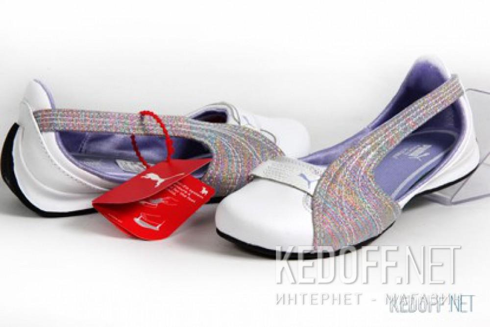 Ballet flats Puma Espera III Iris Jr 303477 01 (grey/white) все размеры