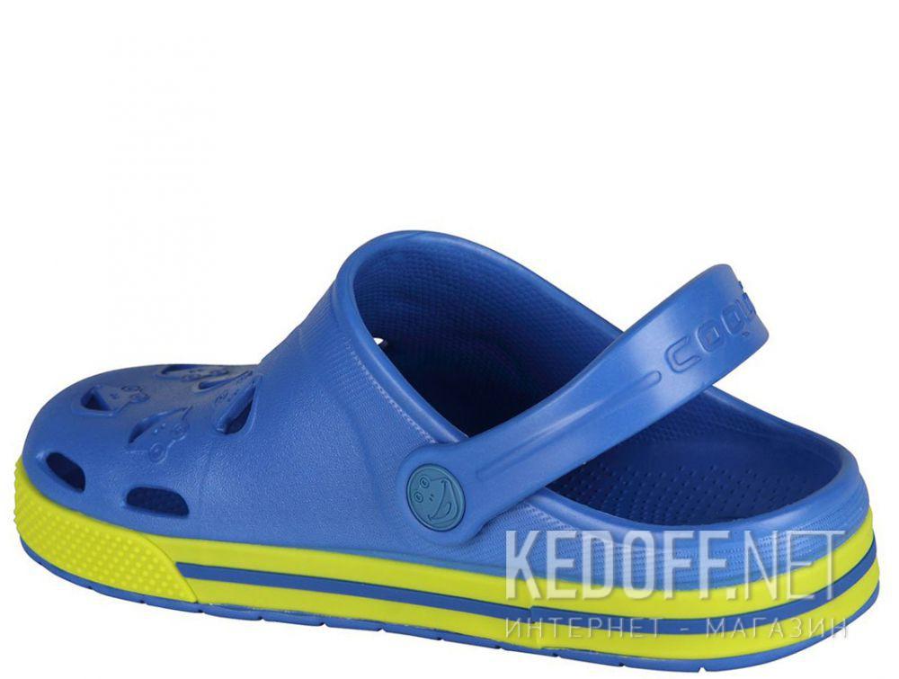 Детская пляжная обувь Coqui 6402 99 39 00 8801 Royal/Citrus купить Украина