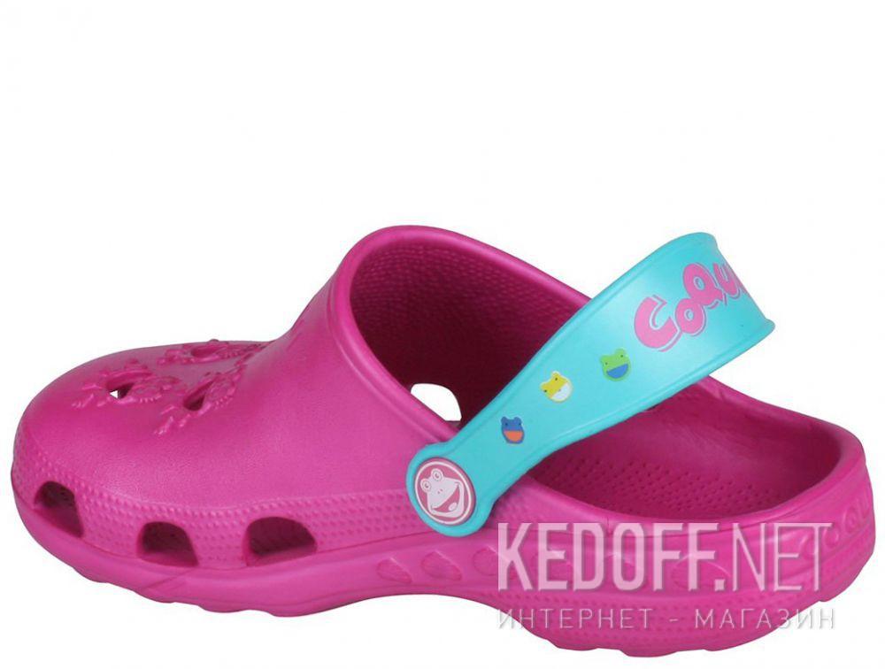 Детские сандалии Coqui 6402 99 39 00 8701 Magenta/Turquoise купить Украина