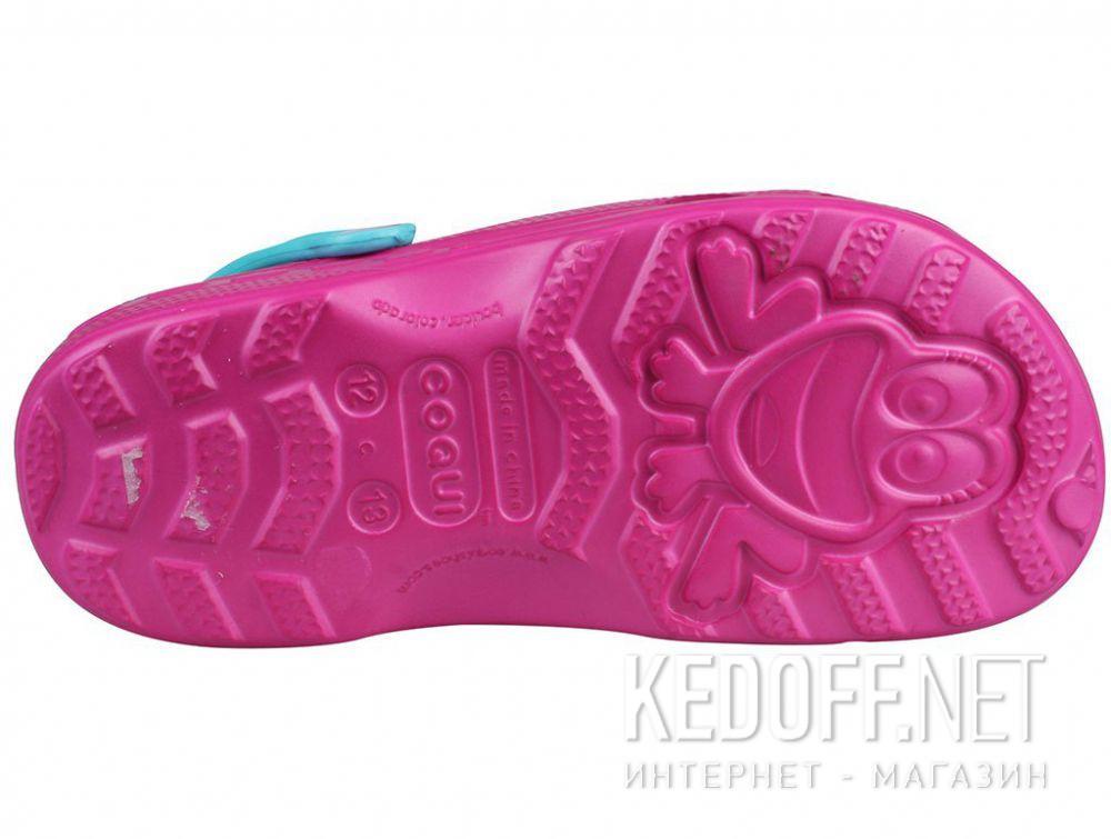 Детские сандалии Coqui 6402 99 39 00 8701 Magenta/Turquoise купить Киев