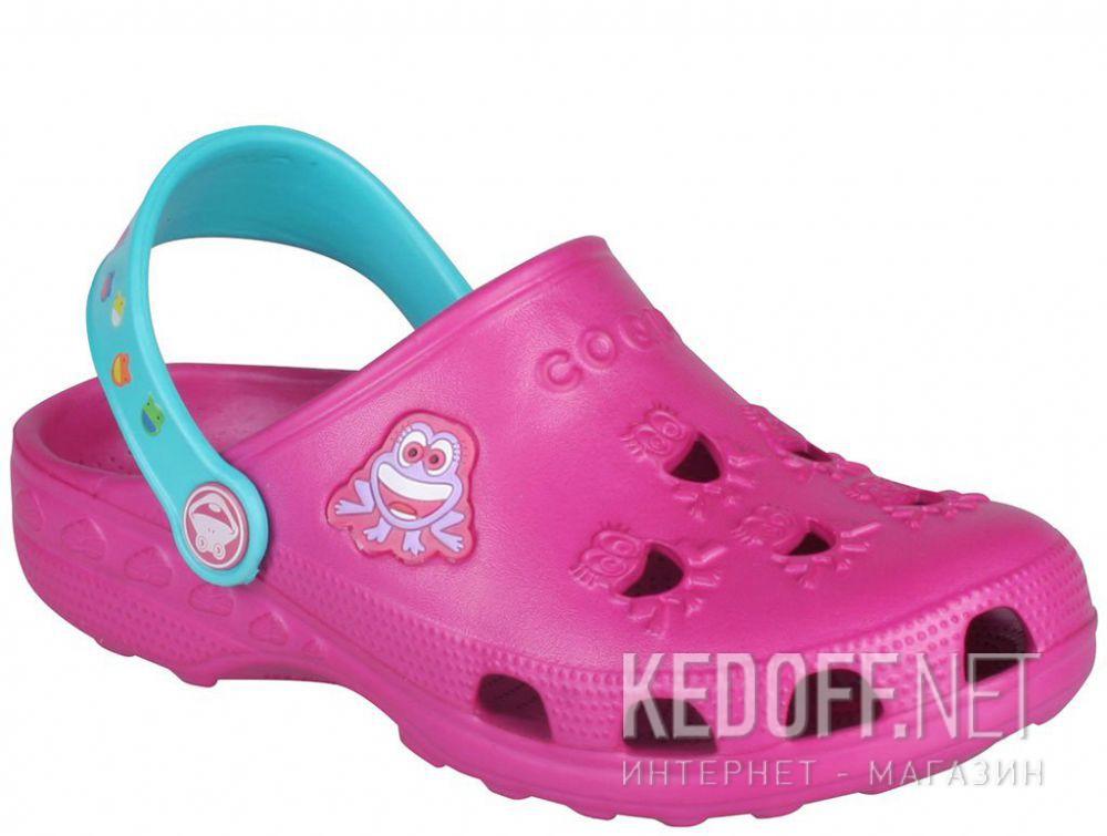 Купить Детские сандалии Coqui 6402 99 39 00 8701 Magenta/Turquoise