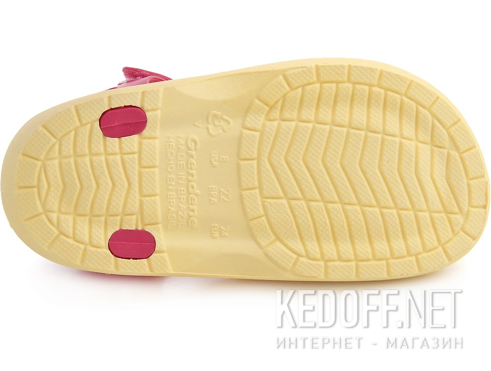 Оригинальные Пляжная обувь Rider 81720-22262 унисекс   (розовый/жёлтый)