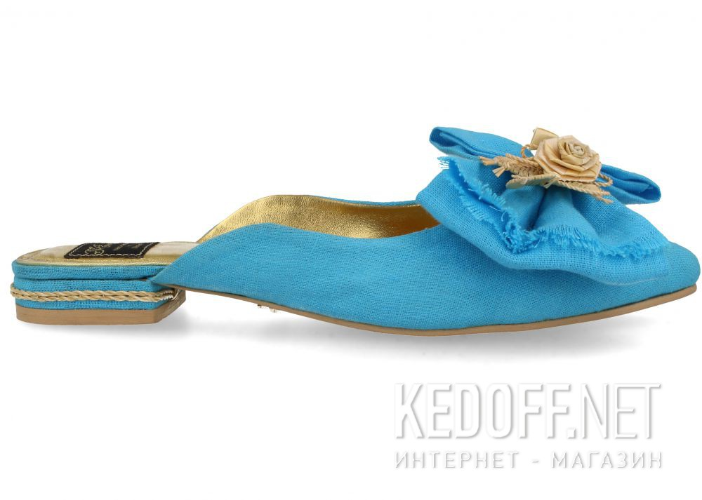 Дизайнерские мюли Khmara Design 8018-40 купить Украина