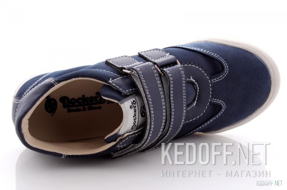 Туфли Dockers 214840-205071   (синий) все размеры