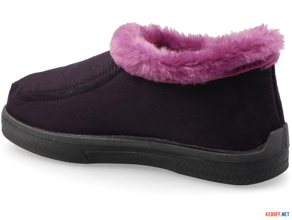 Female insulated home shoes Forester Violet 4694-24