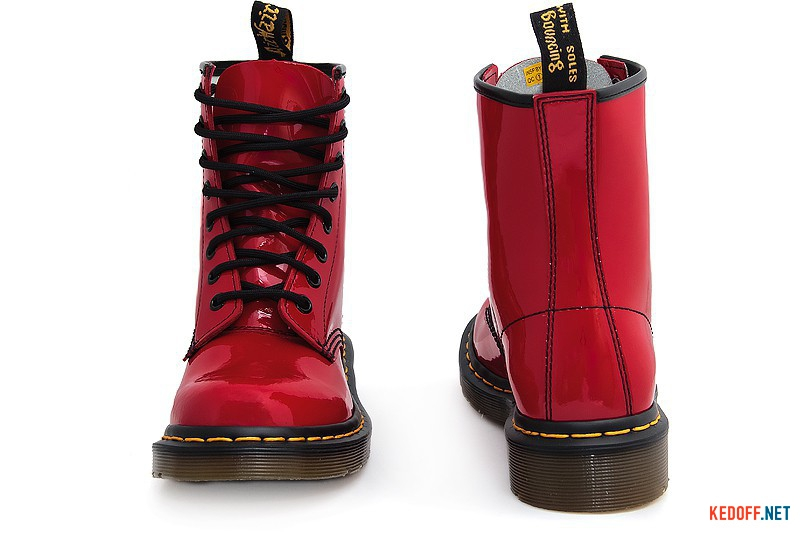 Ankle boots Dr.Martens 1460-11821606 Red