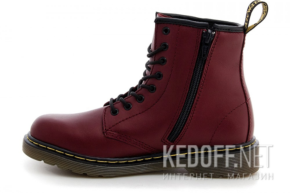 Ботинки Dr. Martens Pascal 1460-15382601 CHERRY RED SOFTY T купить Киев