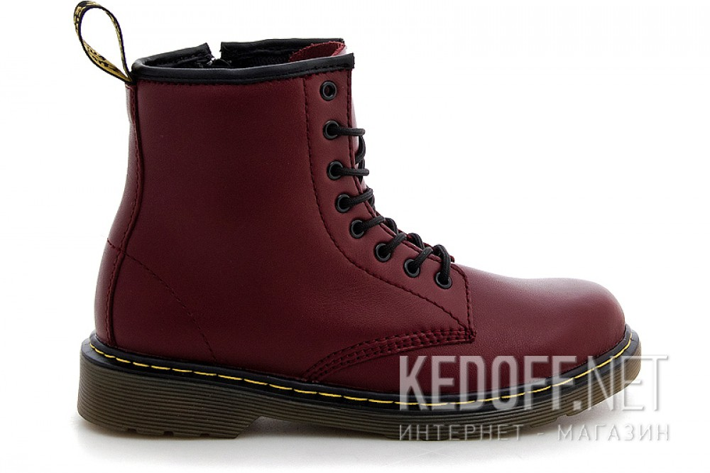 Ботинки Dr. Martens Pascal 1460-15382601 CHERRY RED SOFTY T описание