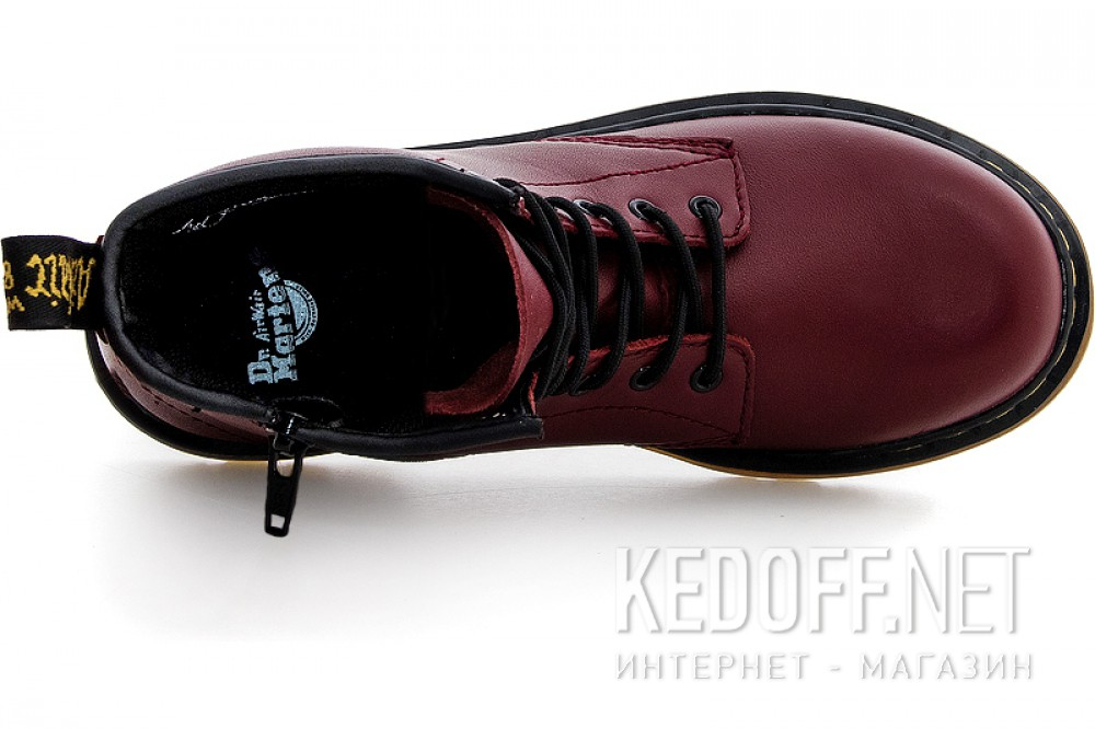 Доставка Ботинки Dr. Martens Pascal 1460-15382601 CHERRY RED SOFTY T