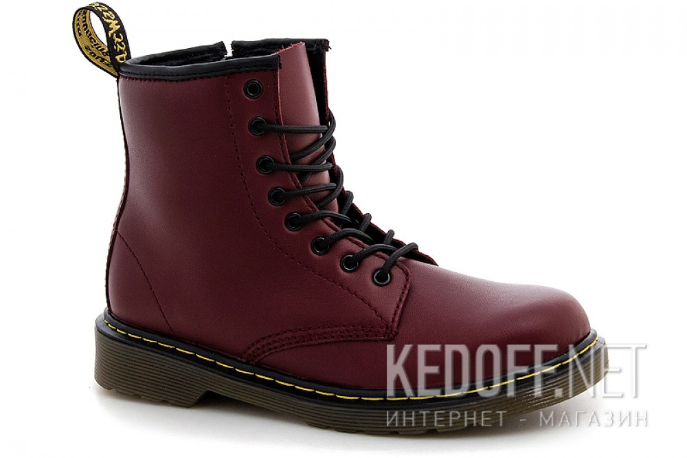Ботинки Dr. Martens Pascal 1460-15382601 CHERRY RED SOFTY T все размеры