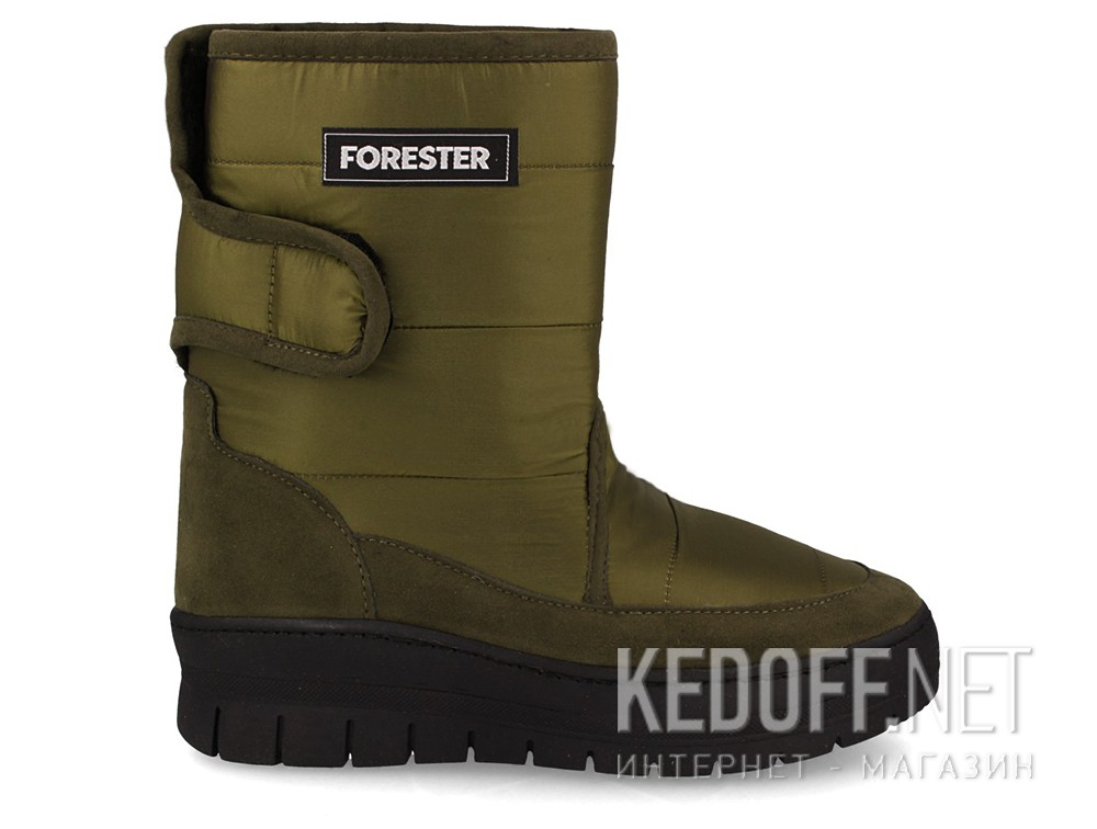 Snowboots Forester 701-252 Olive nylon