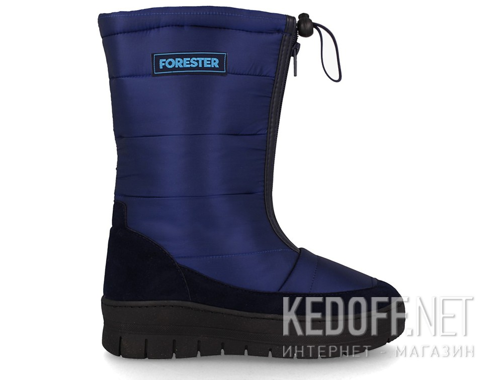 Snowboots Forester 801-89 Dark blue nylon