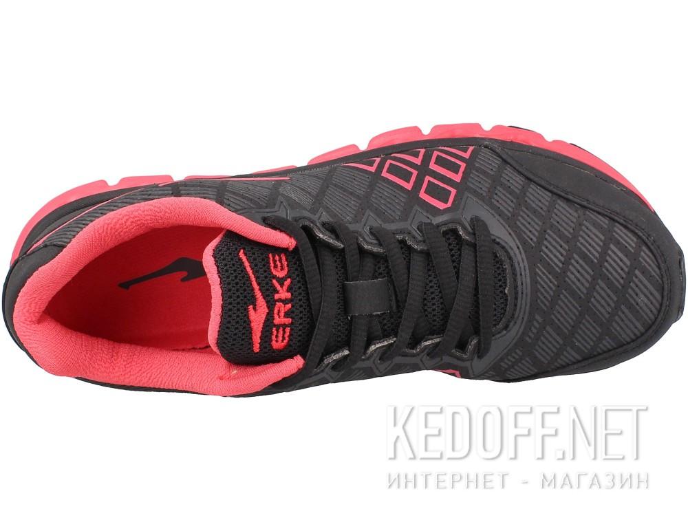 Цены на Кроссовки Erke 12114303153-004 унисекс   (чёрный/красный)