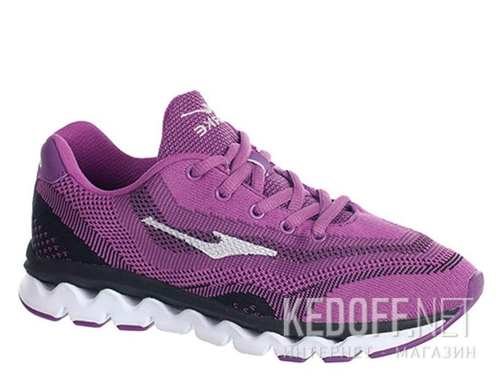 Купить Кроссовки Кросівки Erke 12114303227-702 унисекс   (фиолетовый/чёрный)