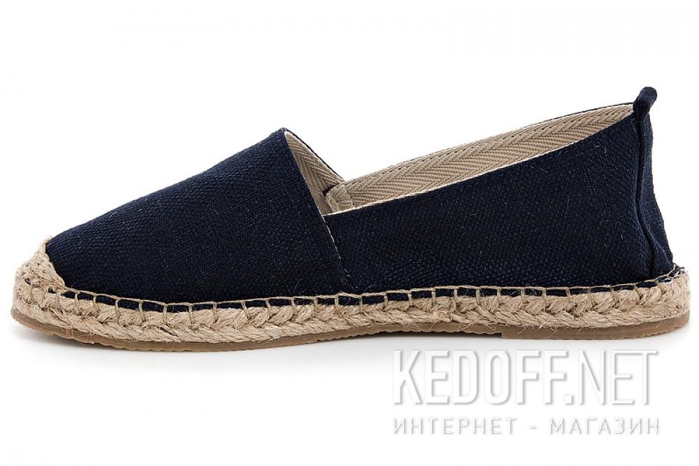 Женские эспадрильи Las Espadrillas 2080-2   (тёмно-синий) купить Киев