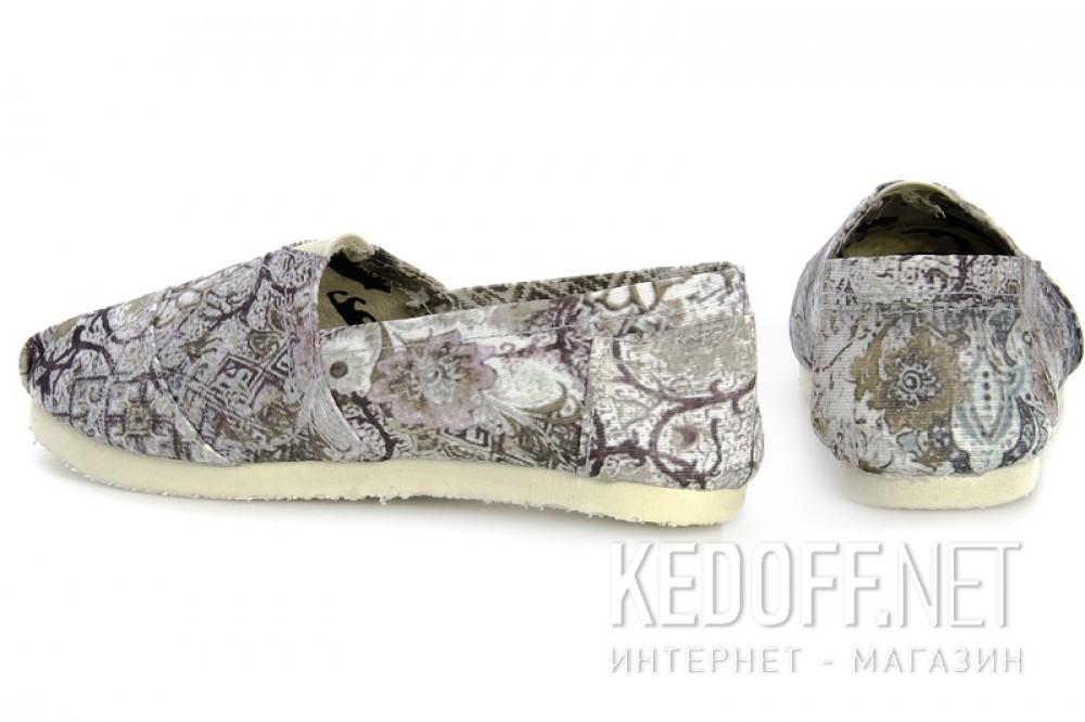 Эспадрильи Las Espadrillas 3618-1327 унисекс   (оливковий/чёрный/серый) купить Киев