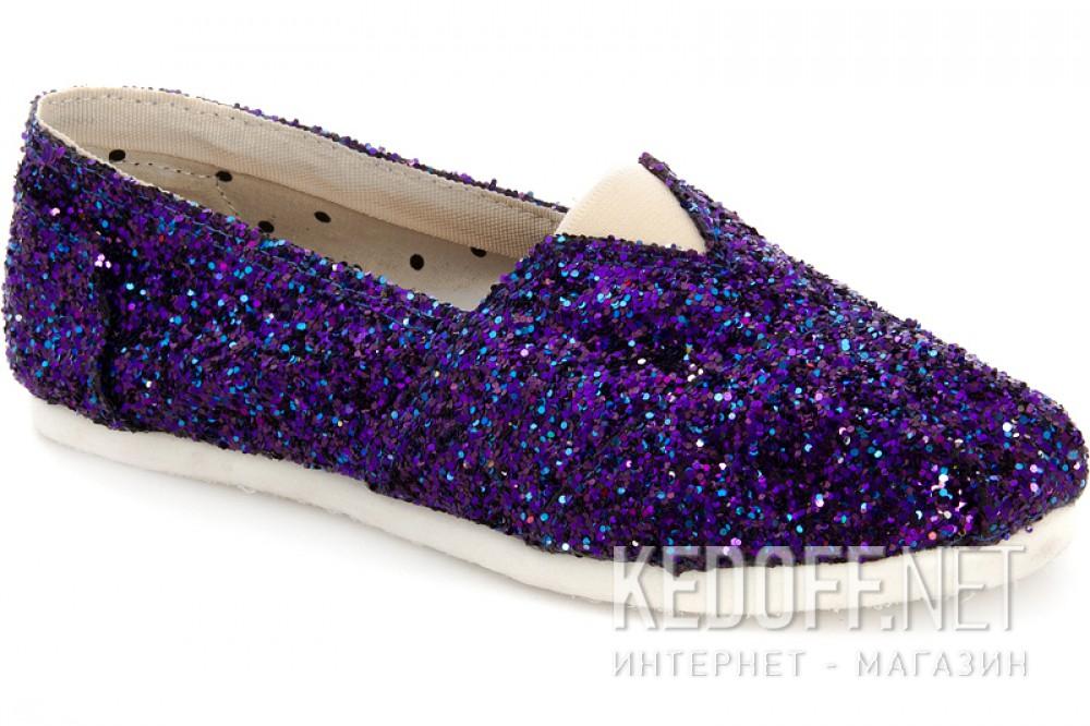 Купить Женские эспадрильи Las Espadrillas 3618-5   (фиолетовый)