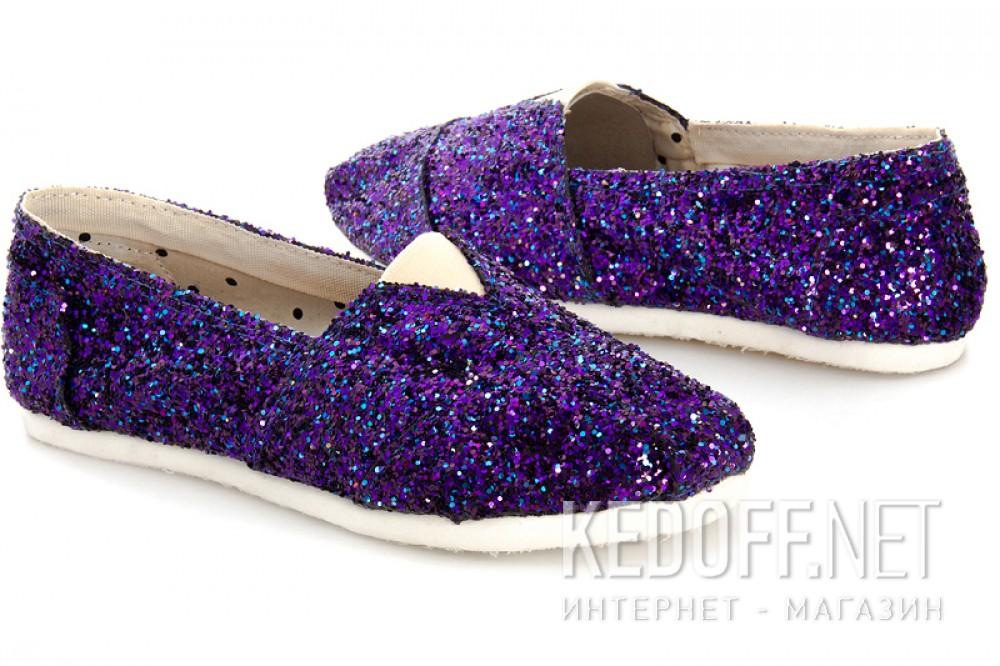 Женские эспадрильи Las Espadrillas 3618-5   (фиолетовый) купить Украина