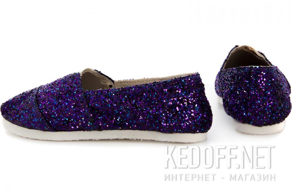 Женские эспадрильи Las Espadrillas 3618-5   (фиолетовый) купить Киев