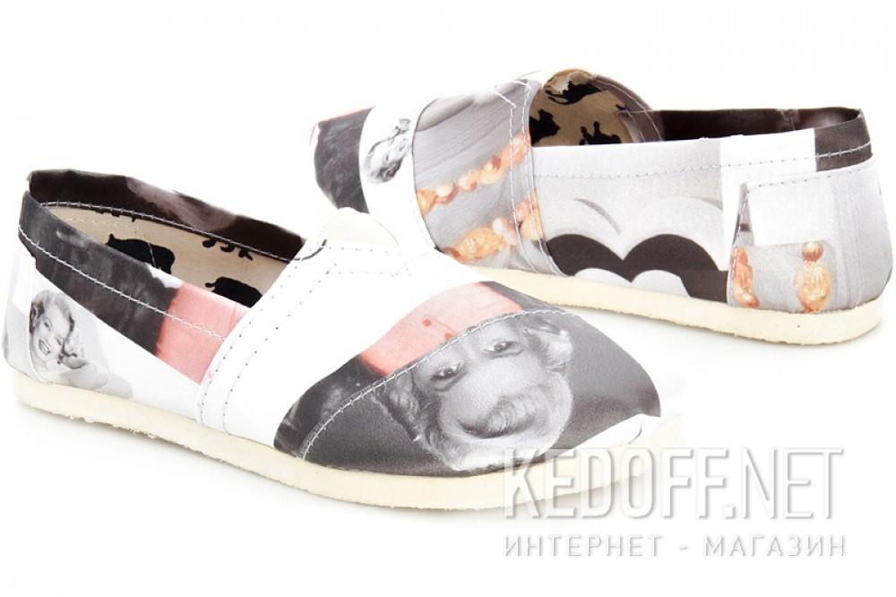 Эспадрильи Las Espadrillas 3618-6 унисекс   (чёрный/серый/белый) купить Украина