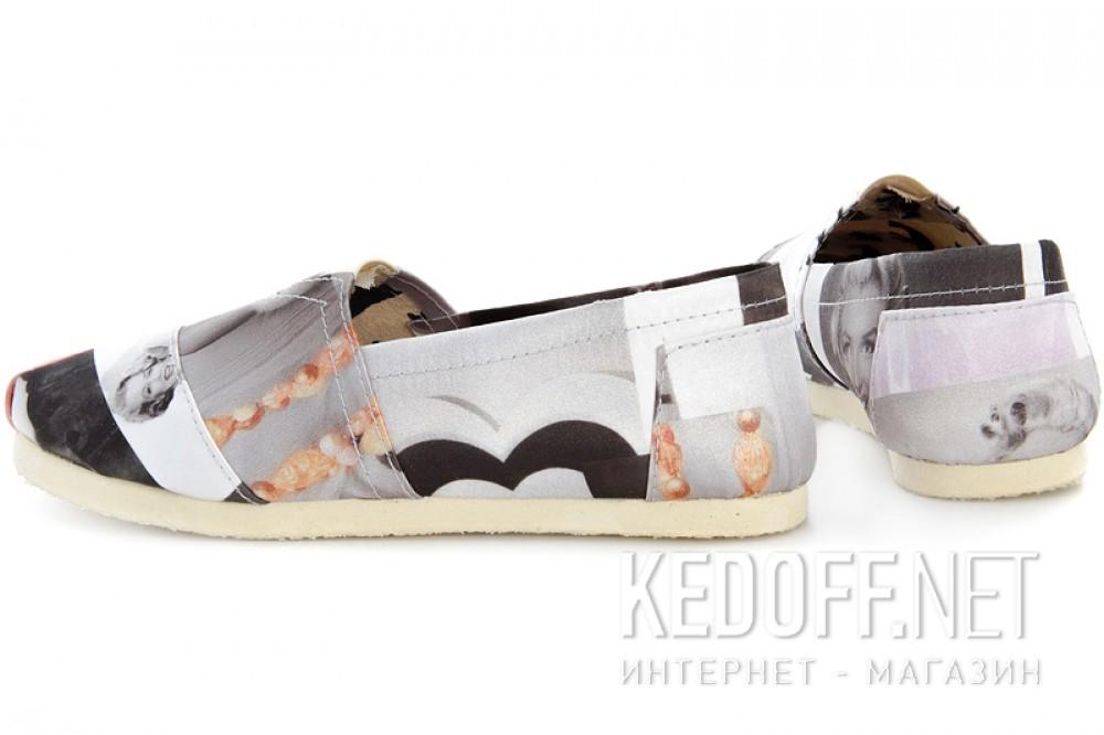 Эспадрильи Las Espadrillas 3618-6 унисекс   (чёрный/серый/белый) купить Киев