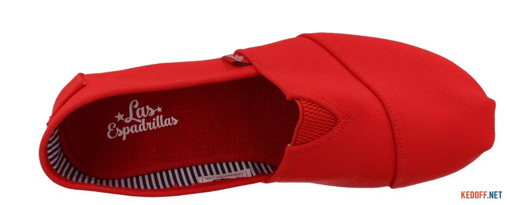 Еспадрільї Las Espadrillas Red Classic 4015-15