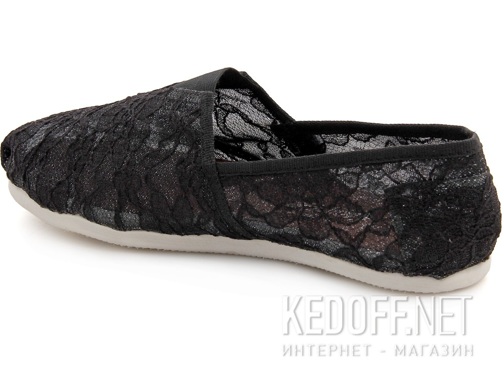 Текстильная обувь Las Espadrillas 2018-2 унисекс   (чёрный) купить Украина