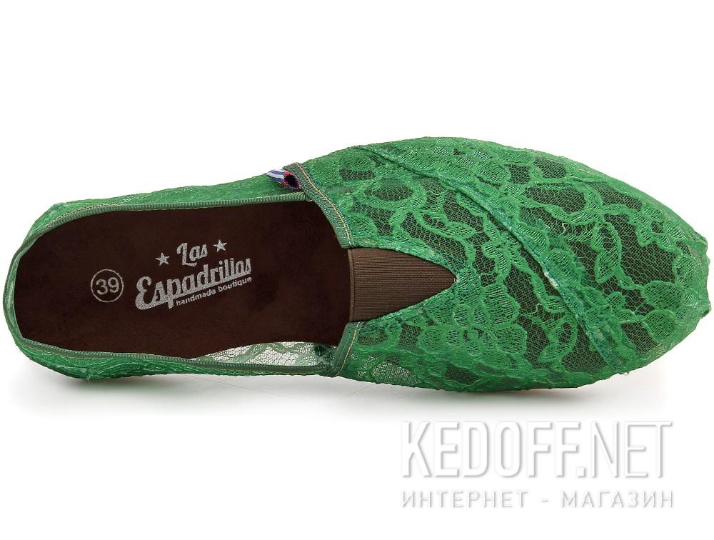 Оригинальные Текстильная обувь Las Espadrillas 2018-8 унисекс   (зеленый)