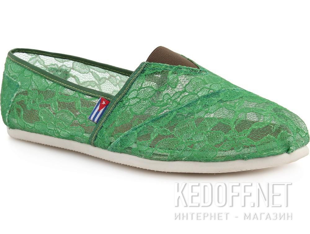Купить Текстильная обувь Las Espadrillas 2018-8 унисекс   (зеленый)