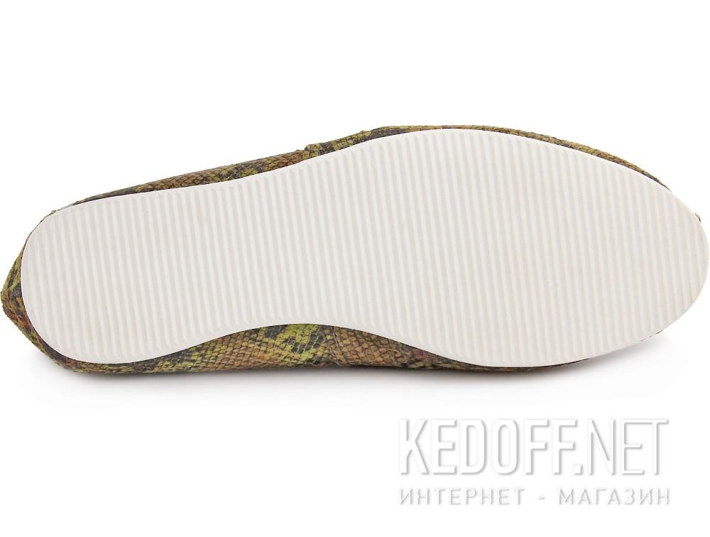 Текстильная обувь Las Espadrillas 2027-2 унисекс   (зеленый/жёлтый) купить Киев