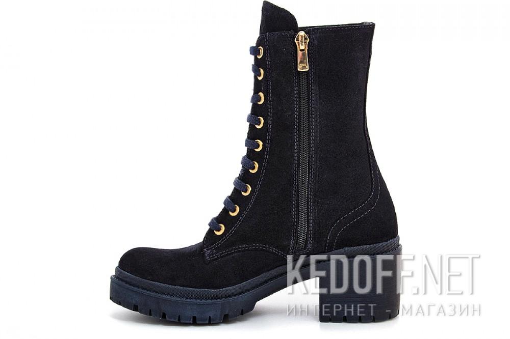 Жіночі черевички Forester 0120-75391-89 темносинего замша
