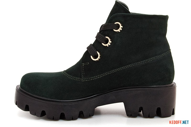 Fashion Boots Forester 0120-75394-22 dark green