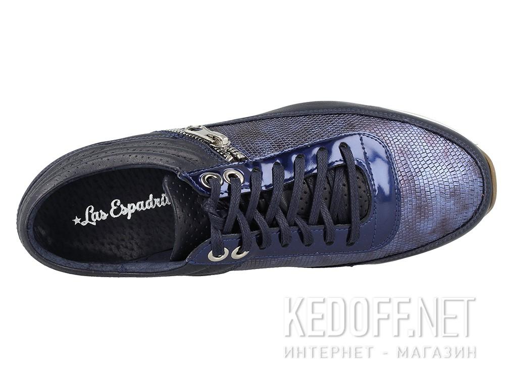 Кроссовки Las Espadrillas 05-0372-002 унисекс   (синий) купить Киев