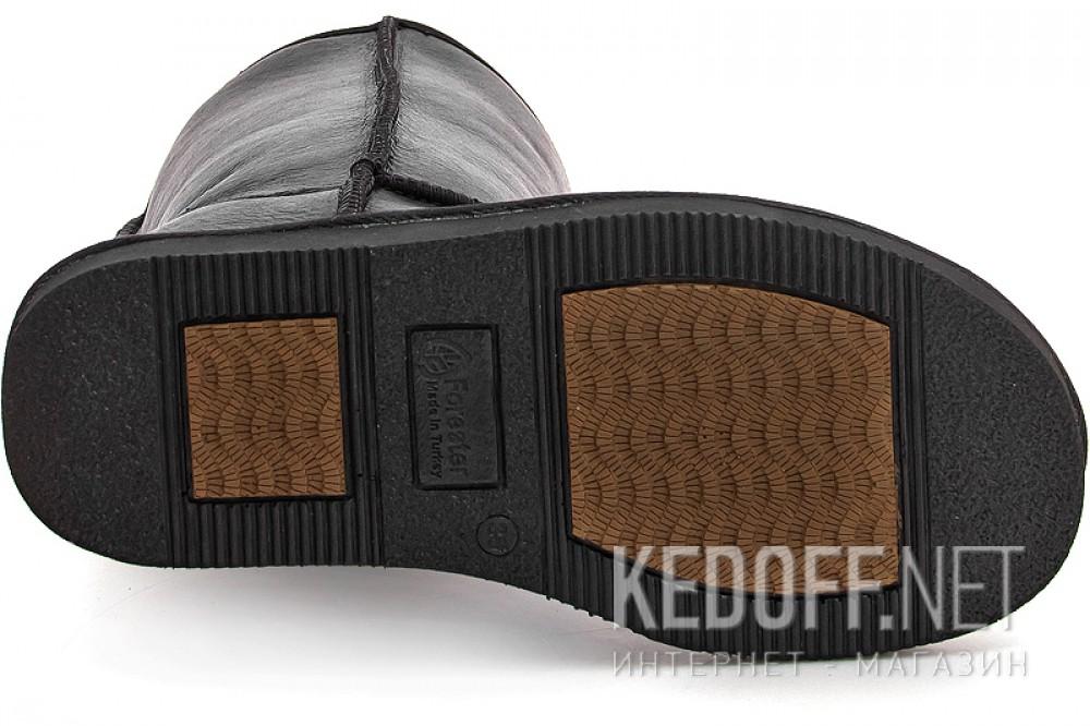 Угги Forester Original 10001-2002 Черная кожа