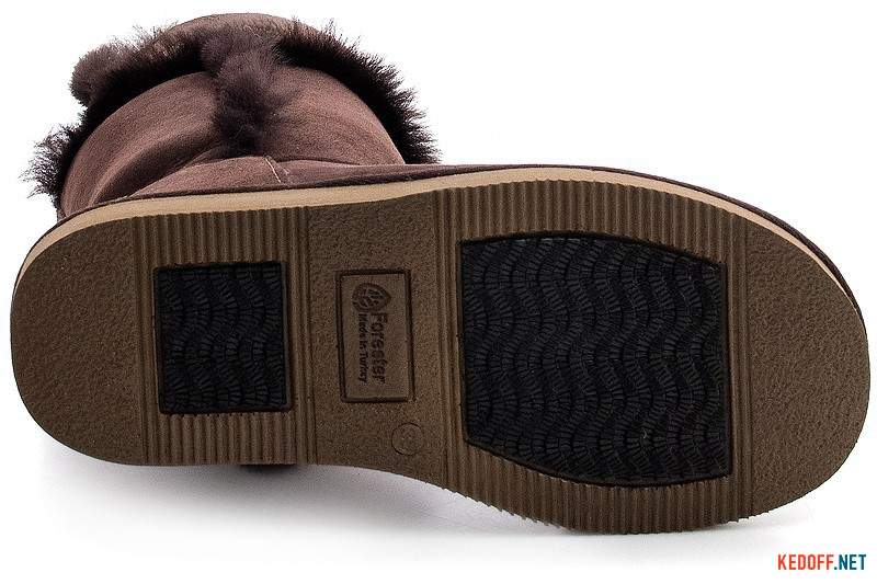Winter boots Forester 101095-1003 Chocolate sheepskin
